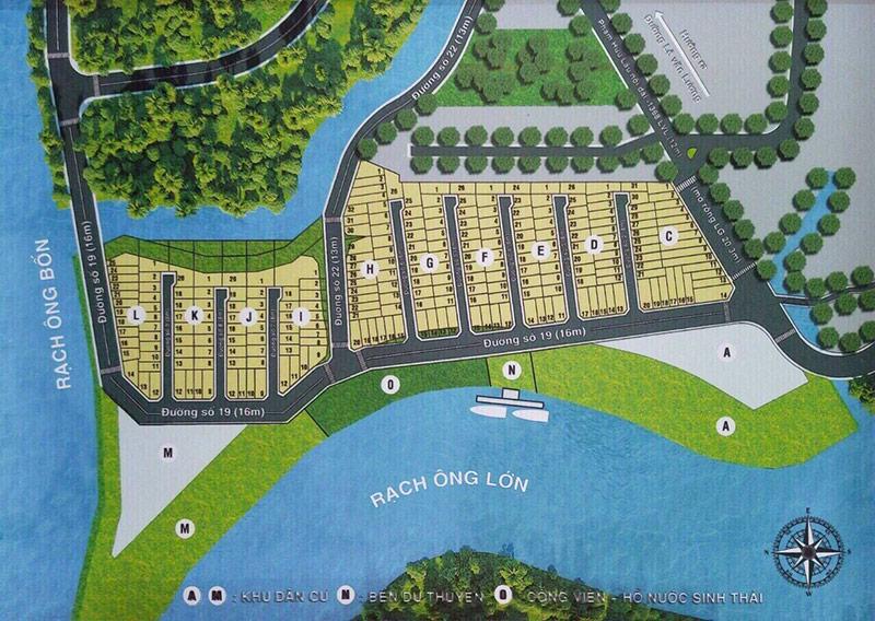 Bản đất khu dân cư Gia Long Riverside