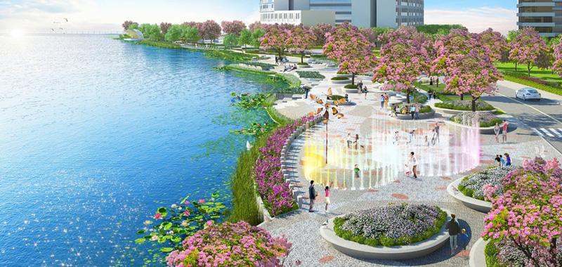 Tiện ích nội khu được bố trí giúp mang lại cuộc sống trọn vẹn cho dân cư tại dự án GS Metro City