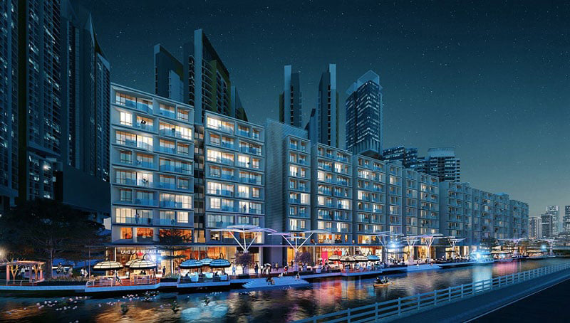 Phối cảnh dự án GS Metro City