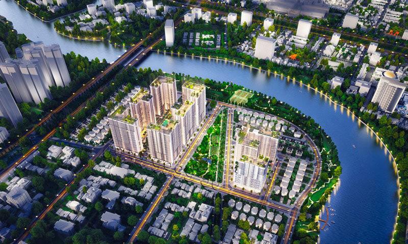 Dự án GS Metro City Nhà Bè