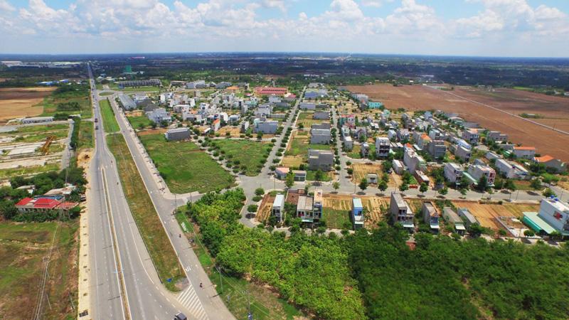 thị trường đất nền Nhơn Đức được săn đón về mức giá và lượng giao dịch đều tăng cao